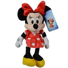"NWT Disney Minnie Mouse 11 "" Plush Beanbag Doll with hangtag"