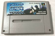 Sonic Wings Nintendo Super Famicom Sfc Snes Aero Fighters From JAPAN USED101