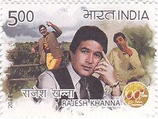 PHILA2861 INDIA 2013  RAJESH KHANNA - 100 YEARS OF INDIAN CINEMA MNH