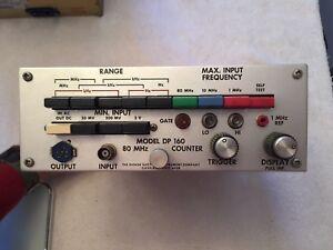 Hickok Model DP160  80 Mhz Counter
