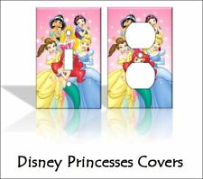 Disney Princesses (Ariel, Belle) Light Switch Covers Home Decor Outlet