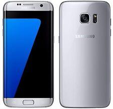 "Samsung Galaxy S7 EDGE Duos SM-G935FD Silver (FACTORY UNLOCKED) 5.5"" QHD, 32GB"