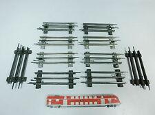 AZ9-1# 10x Märklin/Marklin Spur 0 Ausgleichsstück/Gleis für elektrischen Betrieb