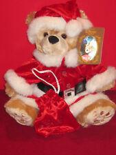 RARE Disney Duffy Mickey Bear Christmas Santa  NEW!