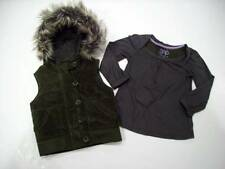 GAP Girls 3T Woodsy TREEHOUSE Into the WOODS Dark Green VEST Polka Dot TOP Set