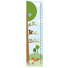 Boy Growth Charts- Woodland friends