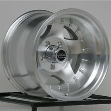 15 inch Wheels Rims Jeep Wrangler Ford Ranger Machined 5 x 4.5 Lug NEW 15x10""