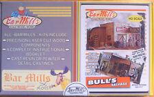 "Bar Mills HO #452 Bull's Salvage -- Kit - 5 x 7"" 12.7 x 12.7cm"