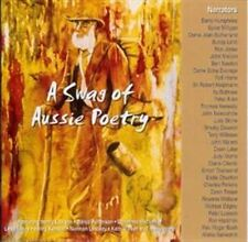 A SWAG OF AUSSIE POETRY 2CD BRAND NEW Henry Lawson Banjo Patterson Les Murray