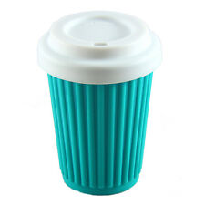 Onya Reusable Regular BYO Coffee Cup Eco Friendly 355ml Silicone Aqua
