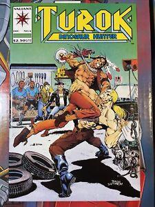 TUROK  DINOSAUR HUNTER #6  VALIANT/ACCLAIM COMICS 1993 VF+