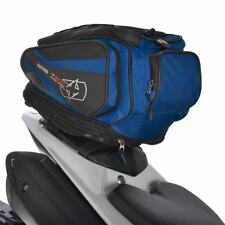 Oxford Motorcycle Motorbike Tail Pack  Lifetime Luggage Expandable 30-L Blue