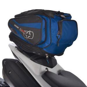 Oxford T30R Motorcycle Motorbike Luggage Tail Pack Bag Lifetime Blue 30-Liter