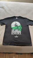 100% Authentic Supreme Public Enemy Terrordome Tee Black Size M