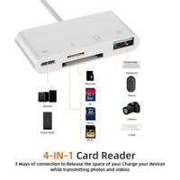 Lightning to SD TF Card Reader Camera Adapter for iphone 6s/7/8/X iPad Air