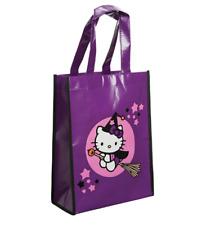 Hello Kitty Halloween Candy Bag Trick or Treat Bag Candy Tote Bag Purple