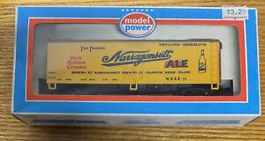 Model Power 9013 HO Narragansett Ale Reefer LN/Box