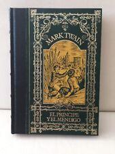 El Principe Yel Mendigo Mark Twain Hardcover 1983 S A de Promocion Y Ediciones
