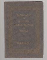 RICORDO SANTUARIO DI S. MARIA DELLE GRAZIE DI BRESCIA-ALFIERI E LACROIX-L3146