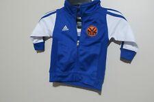 adidas Boys Toddler Jacket Size 12M NY Knicks Blue/White