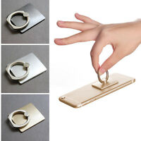360° Rotation Finger Ring Hand Grip Stand Mount Holder For Mobile Phone iPad 2Pc