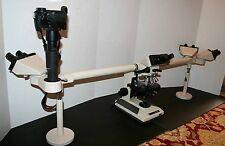 Olympus BH2/BHT Compound Microscope Nice Training Trinocular SLR Photo Ready