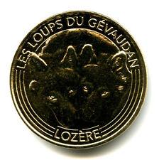 48 ST-LEGER-DE-PEYRE Loups du Gévaudan 4, Têtes de loup, 2016, Monnaie de Paris