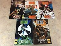 BATMAN LEGENDS OF THE DARK KNIGHT #32,33,34,35,36  LOT OF 5 NM COMIC 1992 DC
