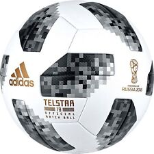 ADIDAS TELSTAR 18 RUSSIA WORLD CUP 2018 - OFFICIAL SOCCER MATCH BALL  - SIZE 5