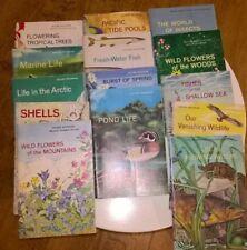 National Audubon Society Nature Program 1960s  18 books