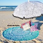 Indian Bohemian Mandala Round Beach Throw Tapestry Hippie Wall Hanging Yoga Mat