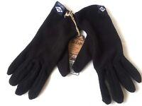 Lee Cooper Adult Fleece Gloves One Size Black R651-10