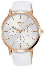 Reloj Mujer LORUS LADIES RP616DX9 de Cuero Blanco