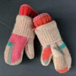 Kids Winter Sweater Mittens Handmade Toddler Winter MCM New Warm Modern Fleece