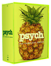 PSYCH: THE COMPLETE SERIES SEASONS 1-8 DVD SEASON 1 2 3 4 5 6 7 8  NEW SET!