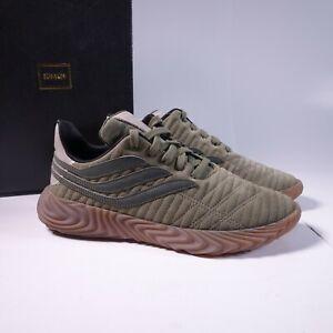 Size 10.5 Men's adidas Originals Sobakov Sneakers D98153 Raw Khaki/Night Cargo