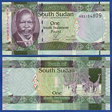 Sur de sudán/southsudan 1 Pound (2011) UNC p. 5