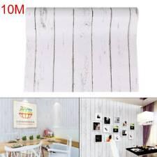 10M Self Adhesive Stripe waterproof Wallpaper Imitating Grain For Instant Furnit