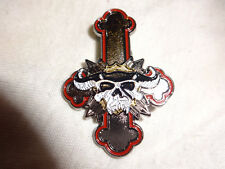 Danzig Badge Pin Metal Rock Heavy Metal RAR IMPORT