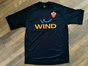 ASR AS Roma Jersey Shirt Black #7 WIND DriFit material NWOT sz XL