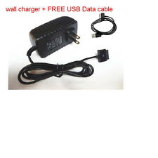 Data Cable + AC Adapter Wall Travel Charger for ASUS EEE Pad Transformer Series