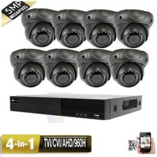 8Ch 5-in-1 Dvr 5Mp 4-in-1 Varifocal 24Ir Zoom Security Camera System 4*n0 Hdmi