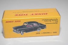 / / ATLAS DINKY TOYS 546 OPEL REKORD TAXI BLACK MINT BOXED SEALED
