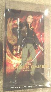 The Hunger Giochi Katniss Barbie 1st IN Serie Nero Etichetta