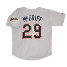 Fred McGriff San Diego Padres 1998 Grey Road Jersey w/ Team Patch Men's (M-2XL)