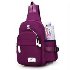 BS Small Chest Bag Pack Waterproof Travel Sport Shoulder Sling Backpack Unisex