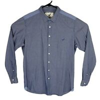 Rodd & Gunn Men's Size Medium Blue Long Sleeve Work Dress Shirt