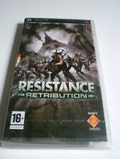 Resistance Retribution PSP Sony version FR Rare Neuf NEW