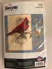 Janlynn CARDINAL Cross Stitch Kit - New in Package