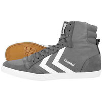 HUMMEL SLIMMER STADIL HIGH SCHUHE HIGH TOP SNEAKER CASTLEROCK WHITE 63-511-2651